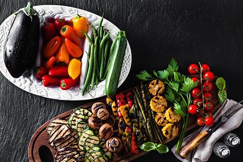 Grillskola tema vegetariskt